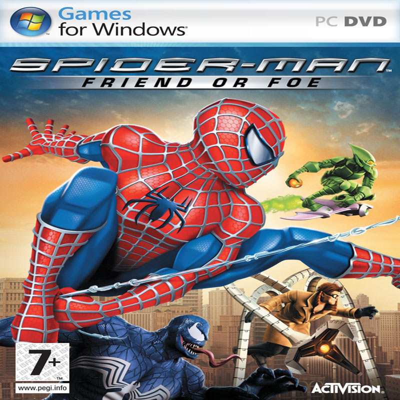 Spider-Man: Friend or Foe - predný CD obal