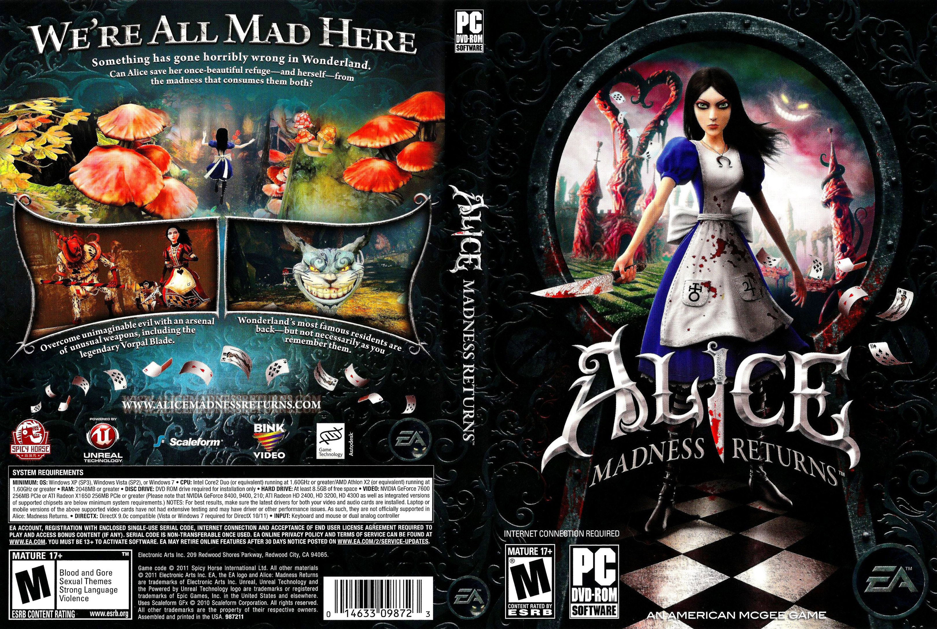 Alice: madness returns patch xxx movies