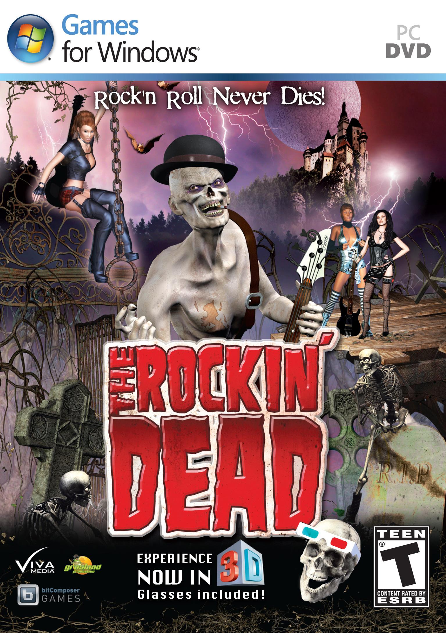 Рок зомби 3d 15 фотография