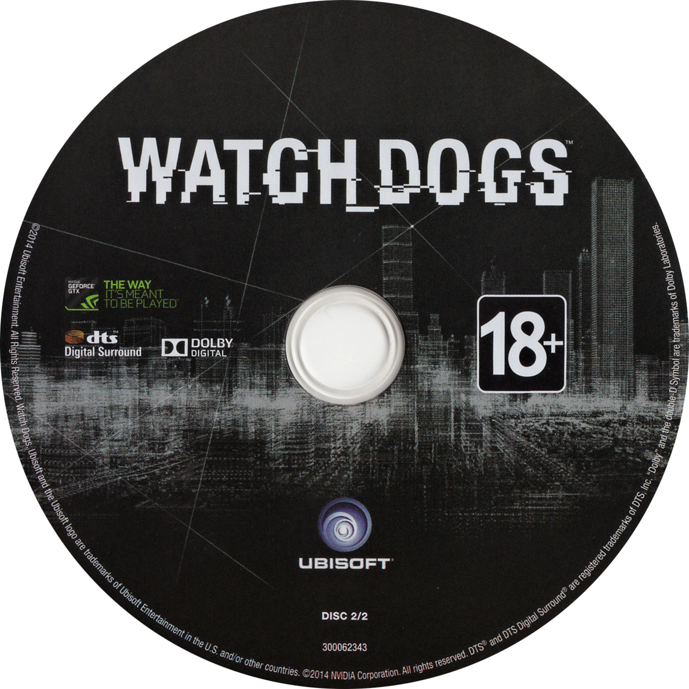 Watch Dogs - CD obal 2