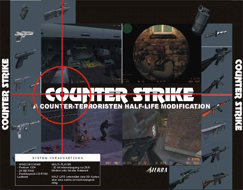 Counter-Strike - zadný CD obal