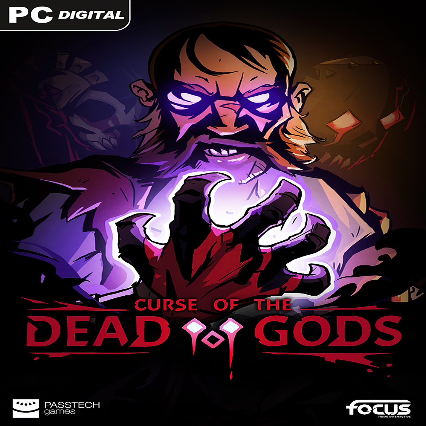 Curse of the Dead Gods - predný CD obal