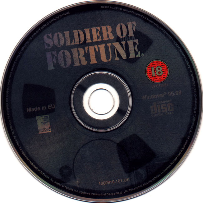 Soldier of Fortune - CD obal 2