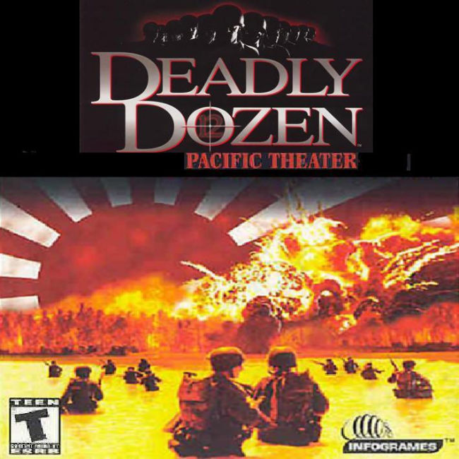Deadly Dozen 2: Pacific Theater - predný CD obal