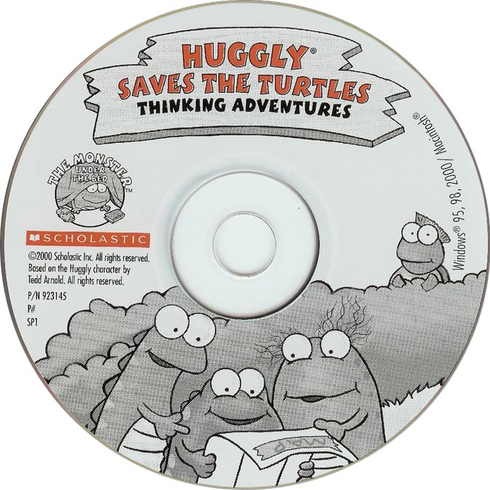 Huggly Saves The Turtles - CD obal