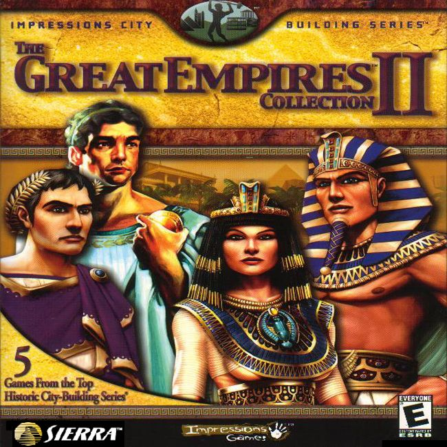 Great Empires Collection II - predný CD obal