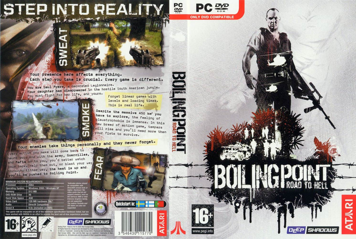 Boiling Point: Road to Hell - DVD obal