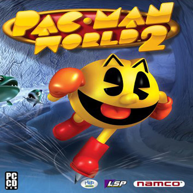 Pac-Man World 2 - predn� CD obal