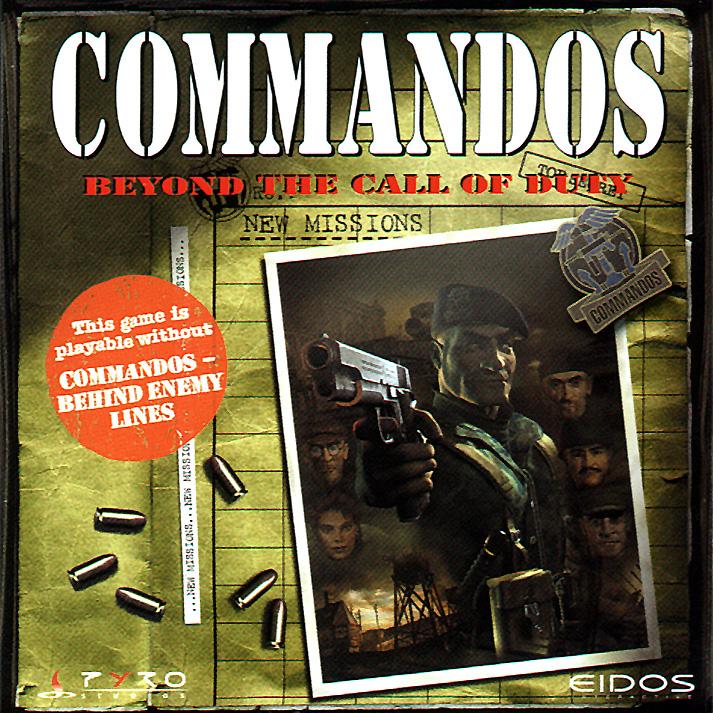 حصري واصلى اجزا لعبت Commandos