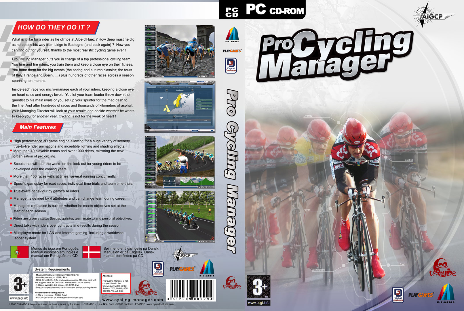 Manager psp games pro cycling manager 2008 psp