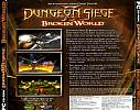 Dungeon Siege II: Broken World - zadný CD obal