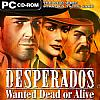 Desperados: Wanted Dead or Alive - predný CD obal