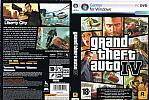 Grand Theft Auto IV - DVD obal