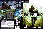 Call of Duty 4: Modern Warfare - DVD obal