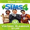 The Sims 4: Vintage Glamour Stuff Pack - predný CD obal