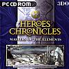 Heroes Chronicles 3: Masters of the Elements - predný CD obal