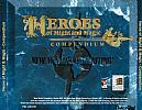 Heroes of Might & Magic: Compendium - zadný CD obal