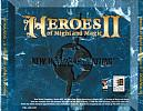 Heroes of Might & Magic 2 - zadný CD obal