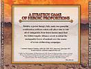 Heroes of Might & Magic 3: Shadow of Death - zadný CD obal