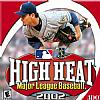 High Heat Major League Baseball 2002 - predný CD obal