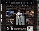 Soldier of Fortune: Gold Edition - zadný CD obal