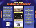 Star Wars: Rebel Assault - zadný CD obal