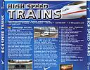 High Speed Trains - MS Train Simulator Add-On - zadný CD obal