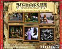 Heroes of Might & Magic 4: The Gathering Storm - zadný CD obal