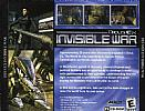 Deus Ex 2: Invisible War - zadný CD obal