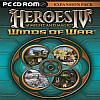 Heroes of Might & Magic 4: Winds of War - predný CD obal