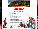 Asterix: The Gallic War - zadný CD obal