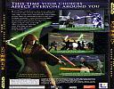 Star Wars: Knights of the Old Republic 2: The Sith Lords - zadný CD obal