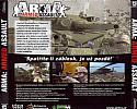 ArmA: Armed Assault - zadný CD obal