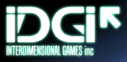 Interdimensional Games - logo