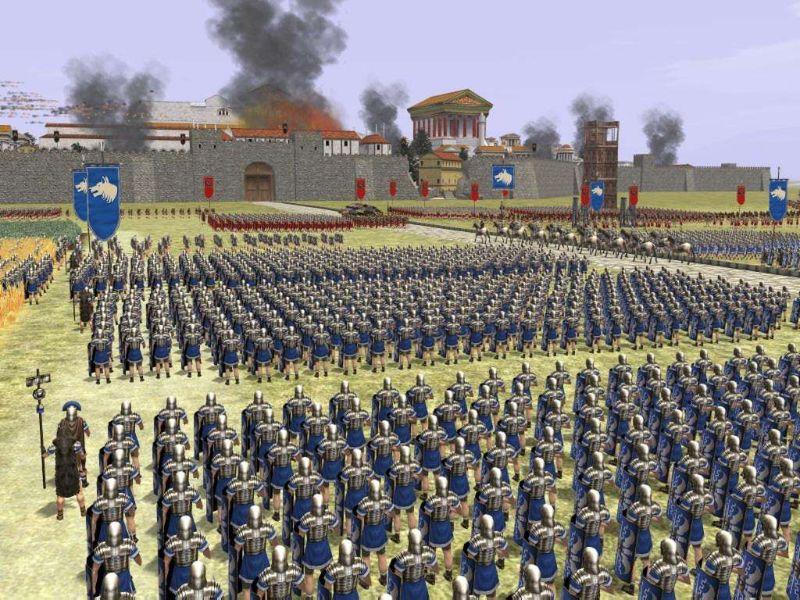 Кряк для ultra avi converter. Игра Rome Total War - обзор игры, прохождени