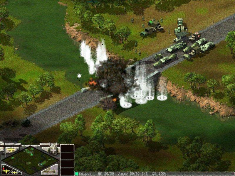 Противостояние 3 (Sudden Strike) - скриншоты.