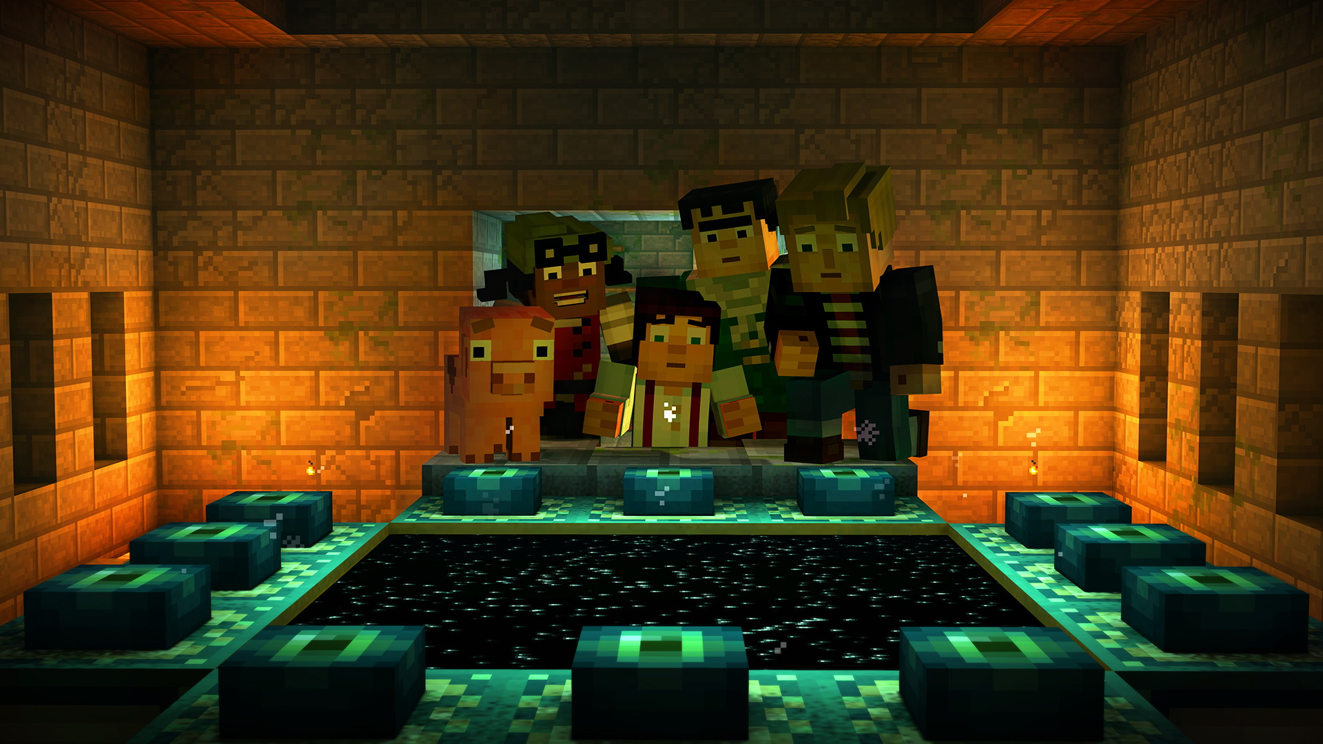 Minecraft: Story Mode - Episode 3: The Last Place You Look - screenshot 19