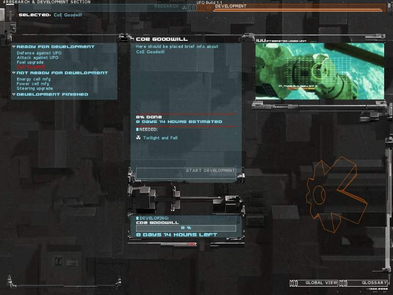 Скриншоты игры UFO: Aftermath.