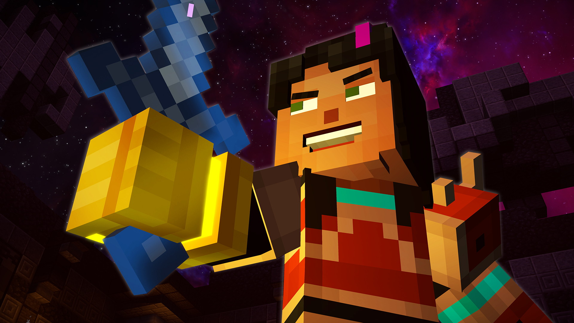 Minecraft: Story Mode - Season 2 Episode 5: Above And Beyond - screenshot 2