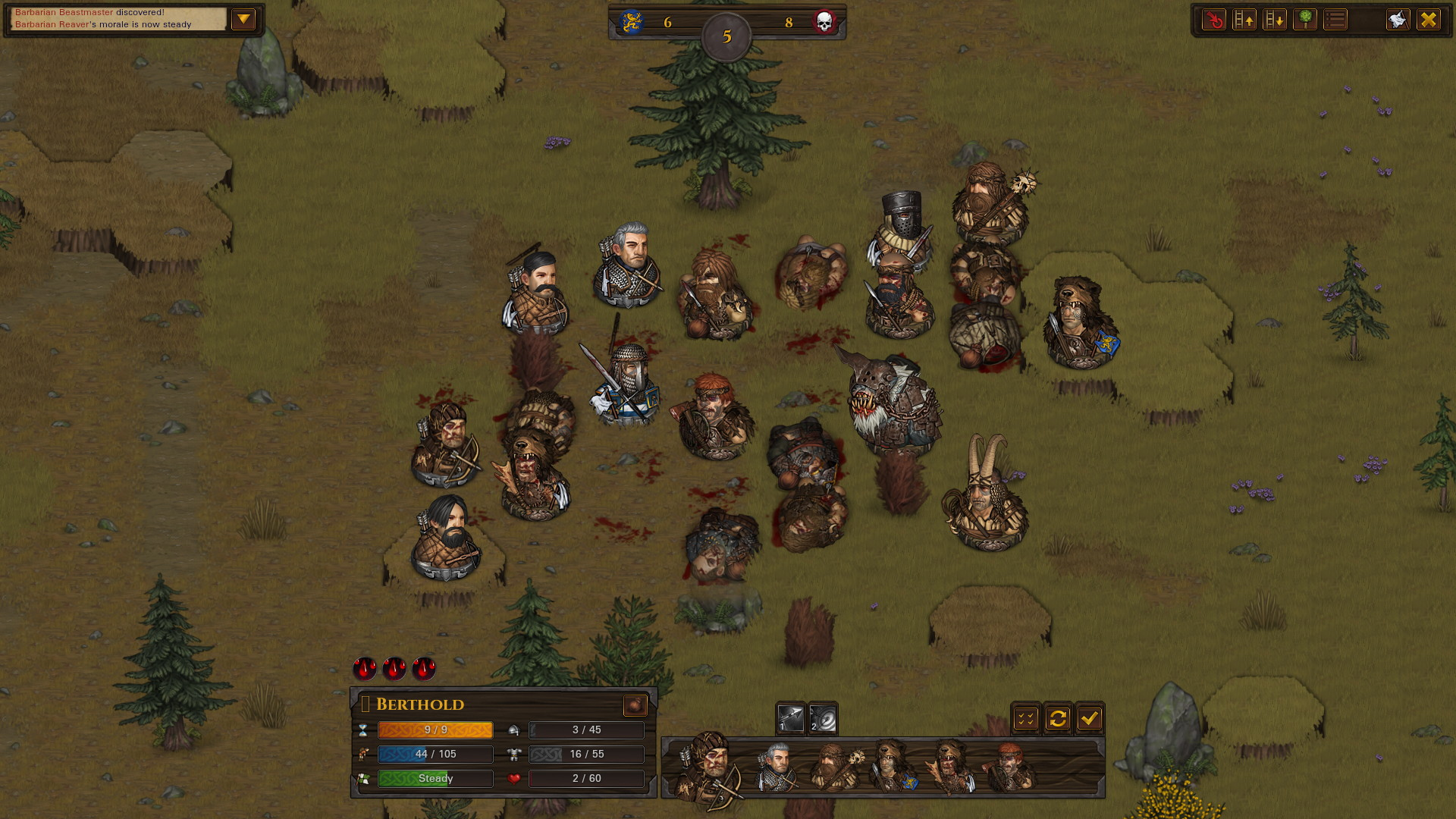Battle Brothers: Warriors of the North - screenshot 4