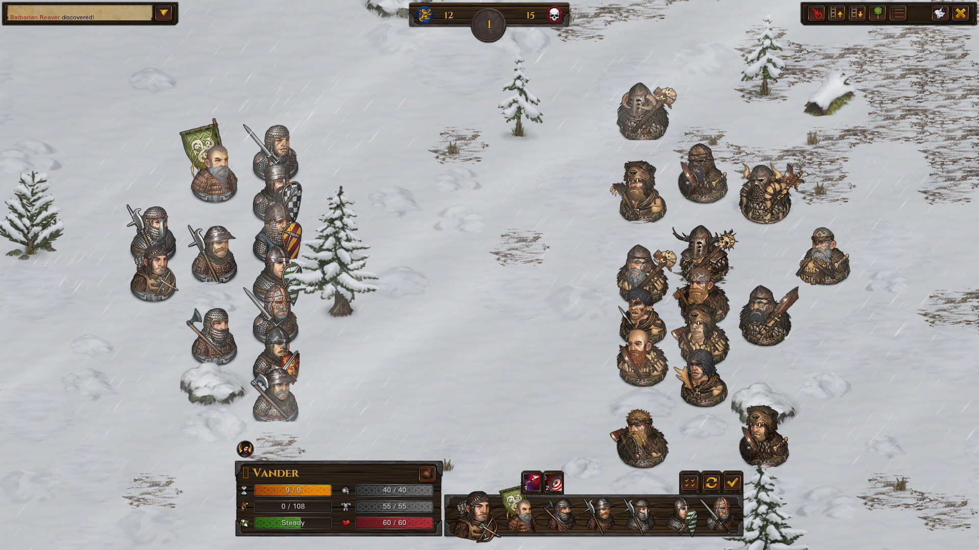 Battle Brothers: Warriors of the North - screenshot 3