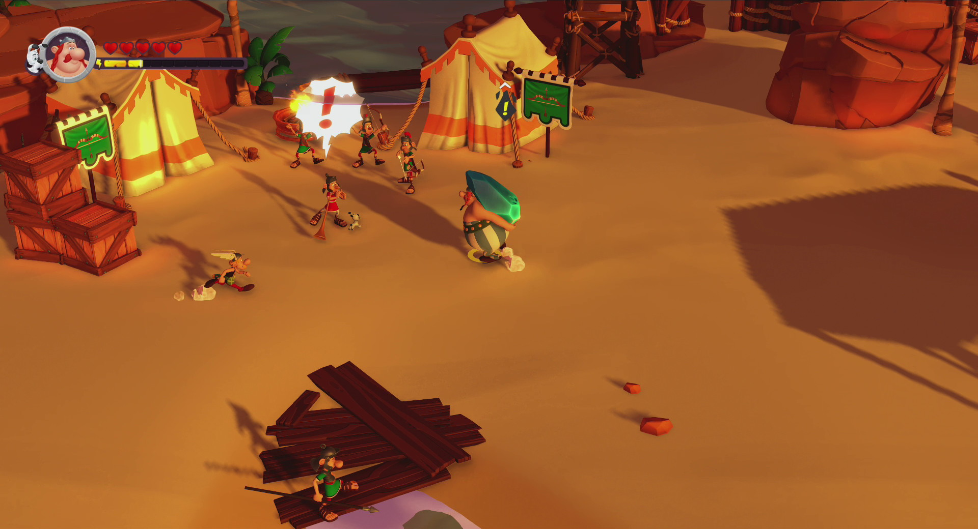 Asterix & Obelix XXL 3: The Crystal Menhir - screenshot 11