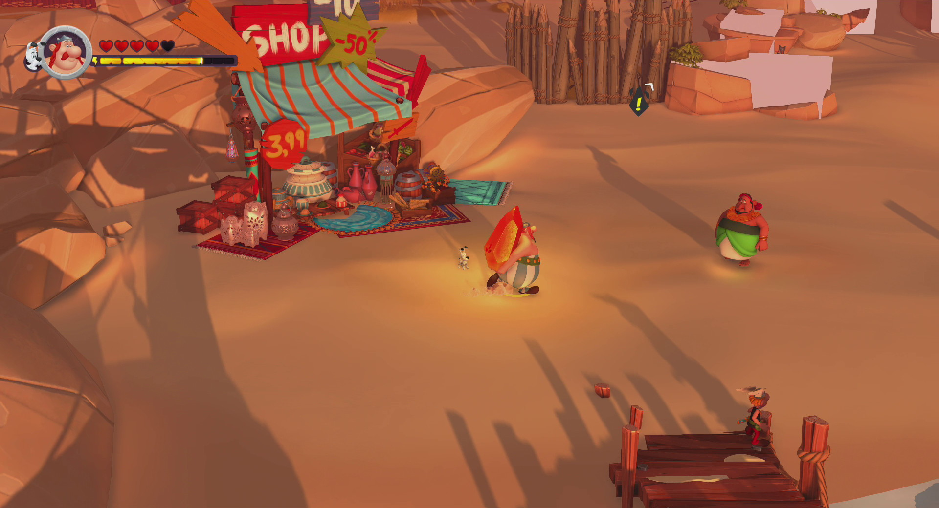 Asterix & Obelix XXL 3: The Crystal Menhir - screenshot 6