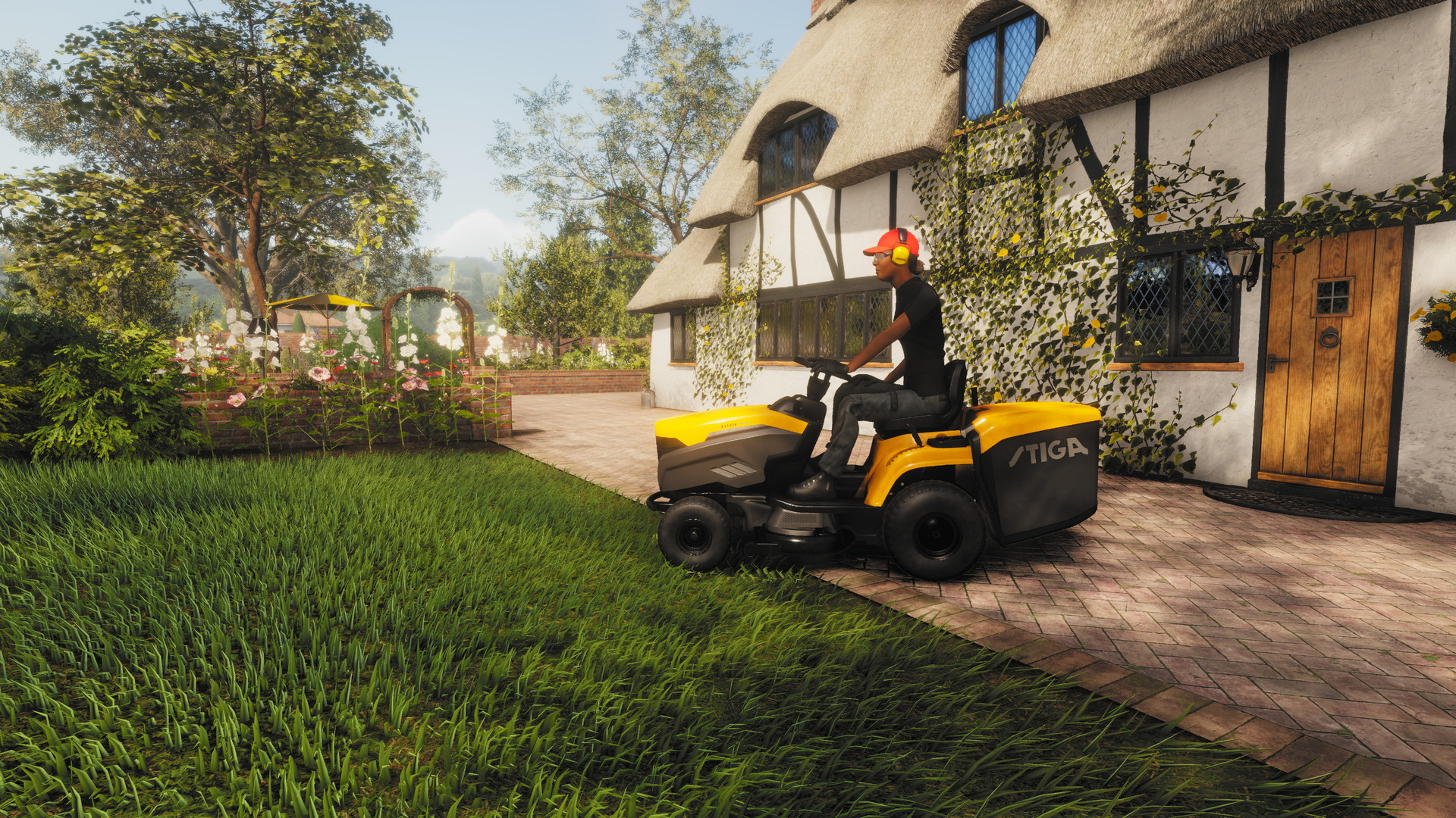 Lawn Mowing Simulator - screenshot 1