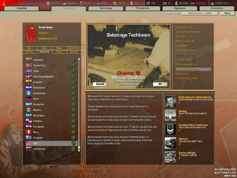 Hearts of Iron 2: Doomsday - screenshot 1