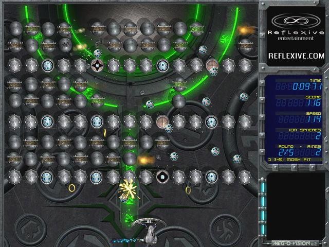 Скриншот из игры Ricochet: Lost Worlds под номером 2. Перейти к скриншоту и