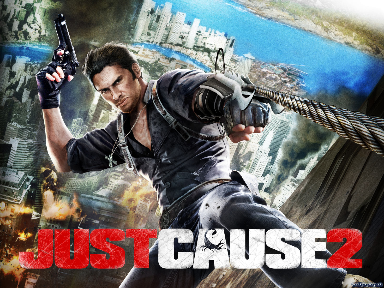 Just Cause 2 - wallpaper 1