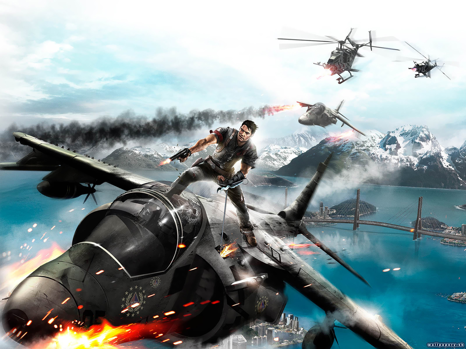 Just Cause 2 - wallpaper 5