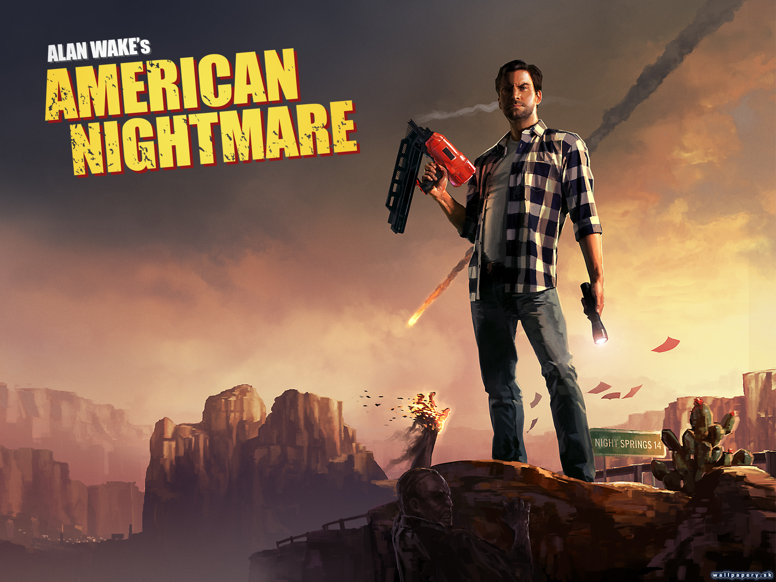 Alan Wake's American Nightmare - wallpaper 1