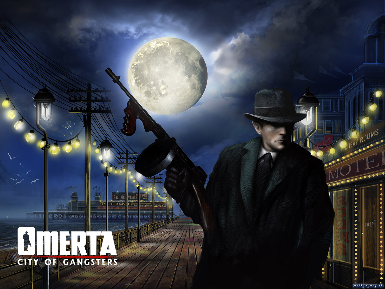 Omerta: City of Gangsters - wallpaper 1